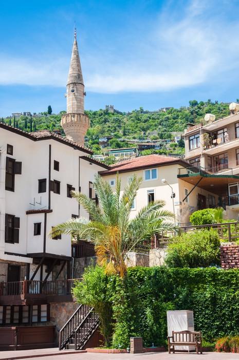 Vinylová Tapeta Pohled na město Alanya, Turecko - Voda