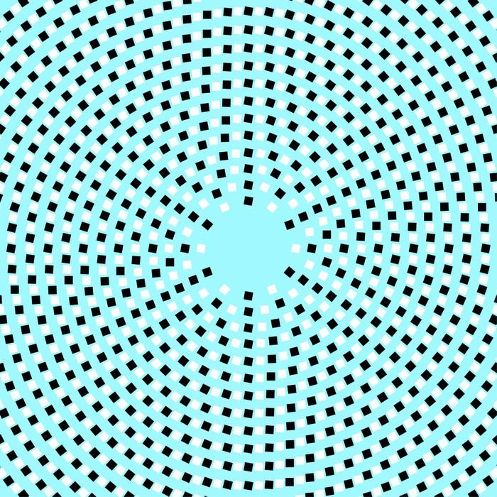 tableau sur toile illusion optique pixers nous vivons pour changer. Black Bedroom Furniture Sets. Home Design Ideas