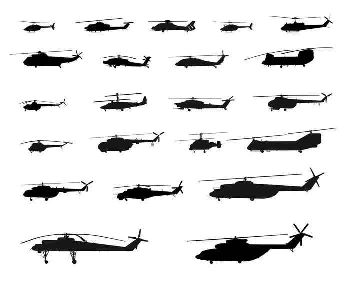 Vinylová Tapeta World of vrtulníků - Vzduch