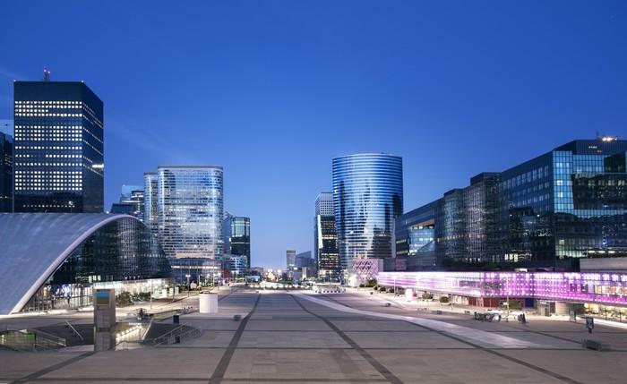 Vinil Duvar Kağıdı Paris La Defense - Şehir