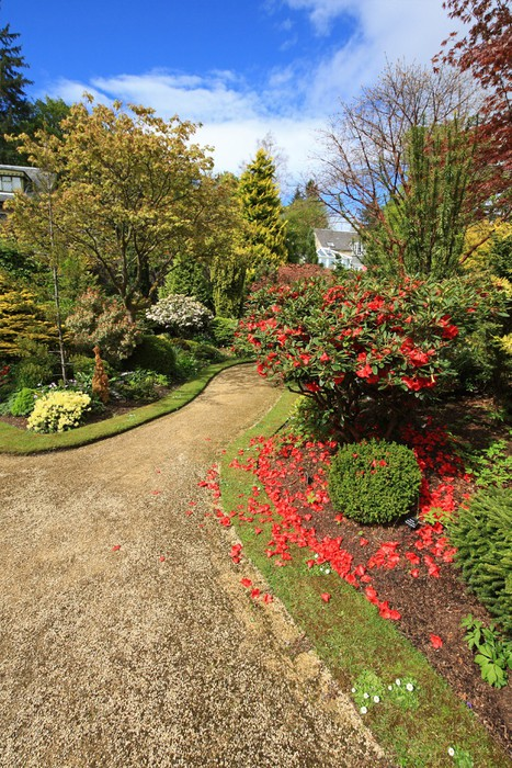 Vinylová Tapeta Krásný jarní zahradě - Roční období