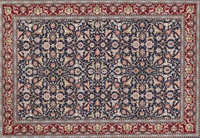 Tableau sur toile tapis turc pixers nous vivons pour changer - Toile antiderapante pour tapis ...