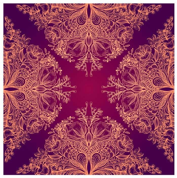 papier peint seamless floral pixers nous vivons pour changer. Black Bedroom Furniture Sets. Home Design Ideas