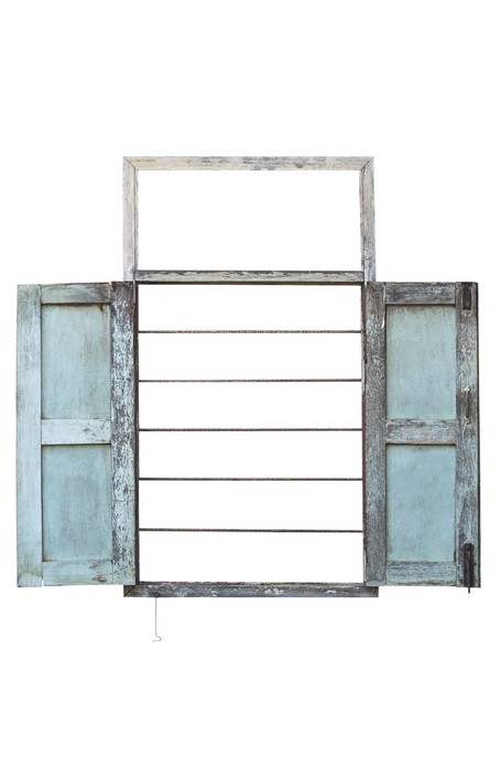 Nálepka Pixerstick Antique otevřené okno sláva -