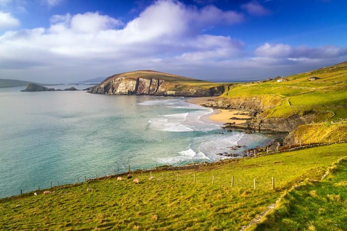 Vinylová Tapeta Dunquin bay v hrabství Kerry, Irsko - Témata