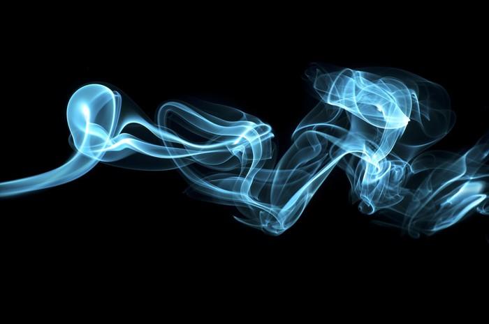 Vinylová Tapeta Azurová kouř - Styly