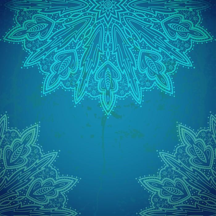 Vinylová Tapeta Krásná krajka ornament. Luxusním pozadí. - Pozadí