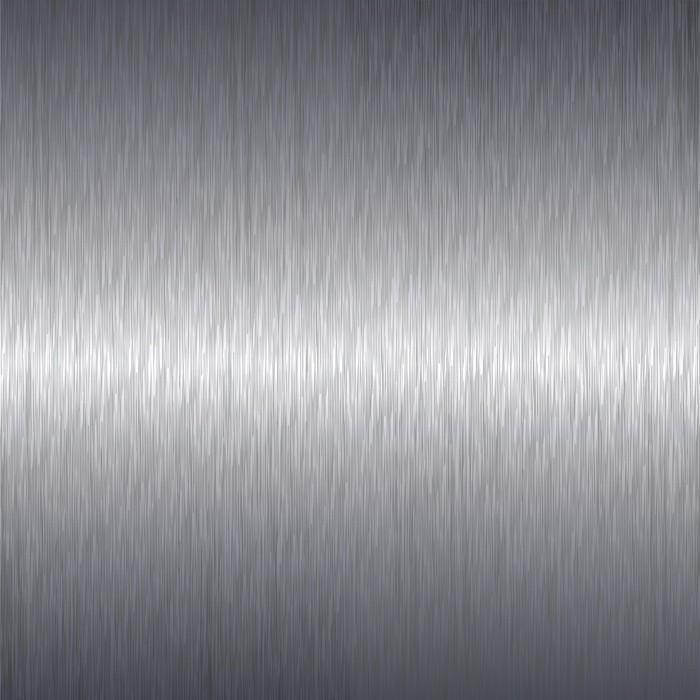 Vinilo Pixerstick Aluminio Cepillado Placa De Metal De