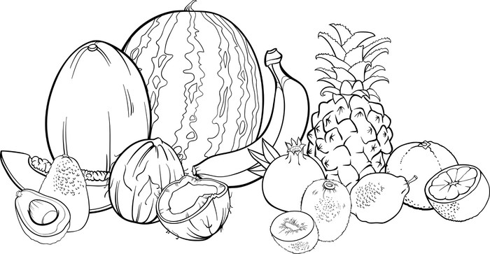 Tocco Food Coloring Pages