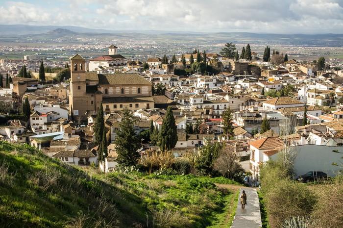 Vinylová Tapeta Granada - Evropa