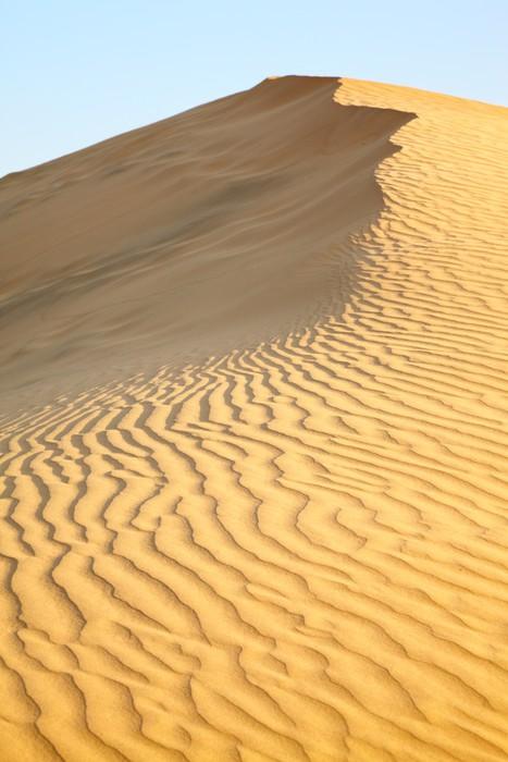 Vinylová Tapeta Písečné duny - Asie