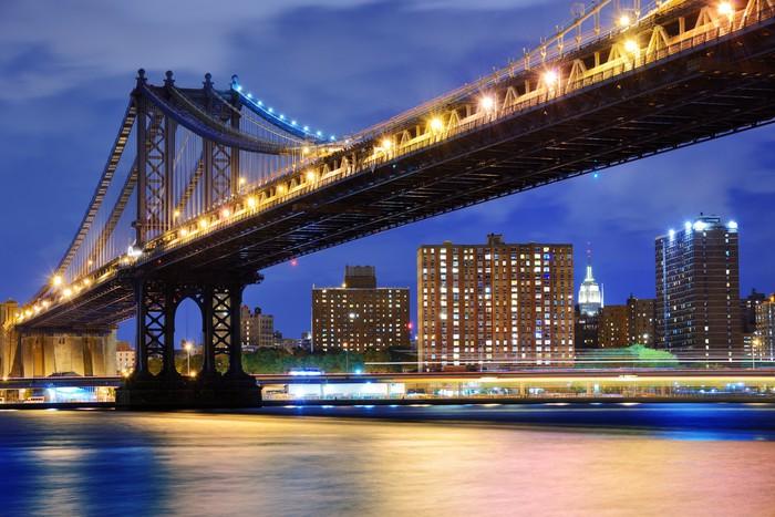 Vinylová Tapeta Manhattan bridge - Témata