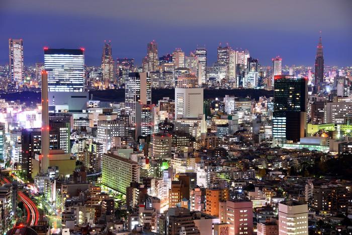 Vinylová Tapeta Ebisu, Tokio - Témata