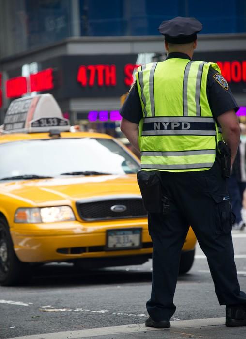 Vinylová Tapeta Policie v New Yorku - Americká města