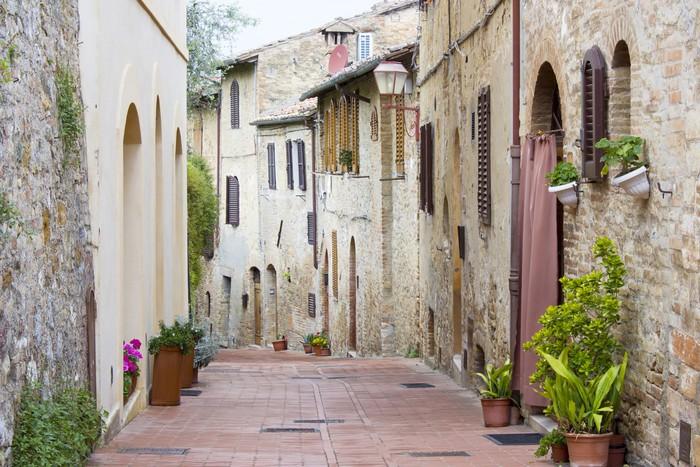 Vinylová Tapeta San Gimignano, Toskánsko, Itálie - Evropa
