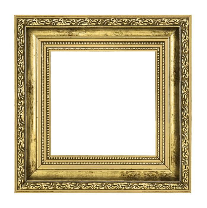 Fototapete Goldener Rahmen mit dicken Rahmen • Pixers® - Wir leben ...