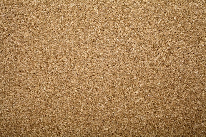 Vinylová Tapeta Cork Board Texture - Struktury