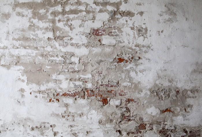 Carta da parati vecchio muro di mattoni rossi con for Carta da parati muro di mattoni