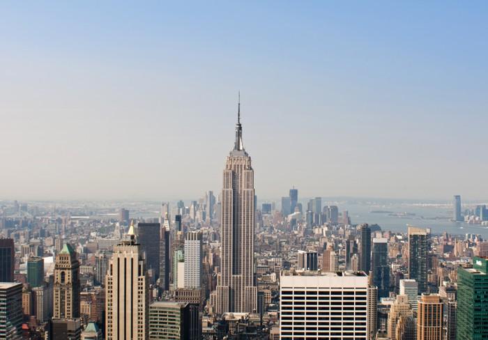 Vinylová Tapeta Denní Zobrazit New York Skyline - Jiné pocity