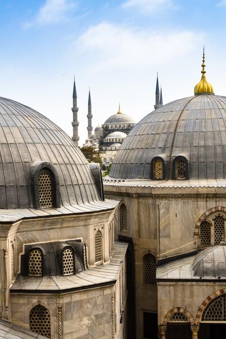 Vinylová Tapeta Modrý (Sultan Ahmed) mešita, Istanbul, Turecko - Střední Východ