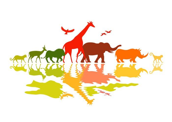 Vinylová Tapeta Wildlife Safari - Savci