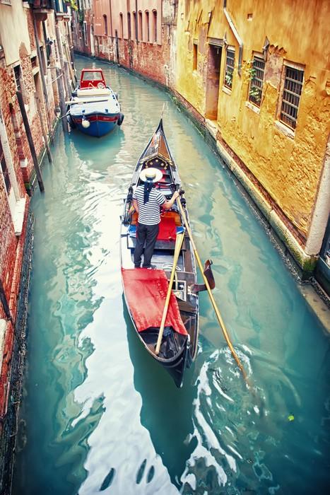 Vinylová Tapeta Gondola v Benátkách - Témata