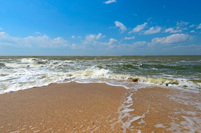 Nálepka Pixerstick Doljanskaya plivat a Rusko. - Voda