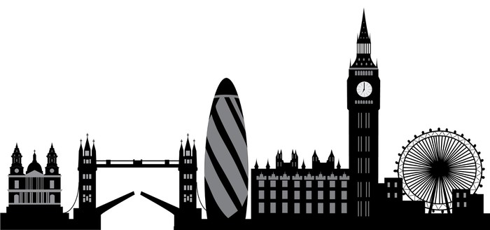 London Skyline Wall Decal Pixers 174 We Live To Change