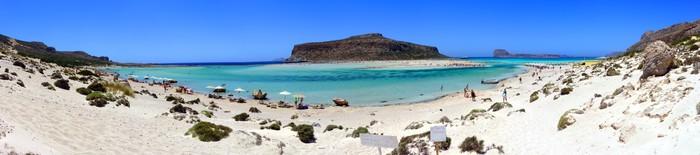 Vinylová Tapeta Balos Beach na Krétě - Evropa
