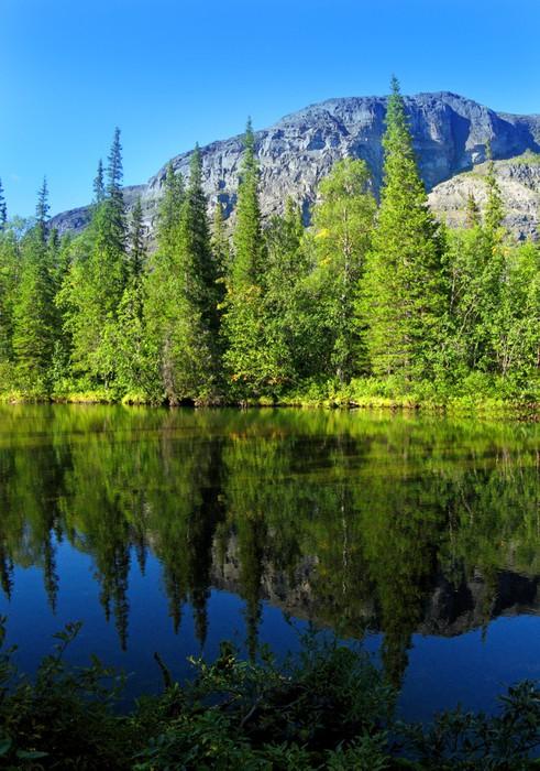 Plakát Mountain Lake - Voda