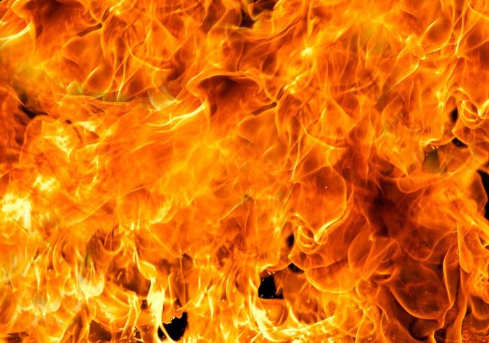 Vinylová Tapeta Oheň plameny - Struktury