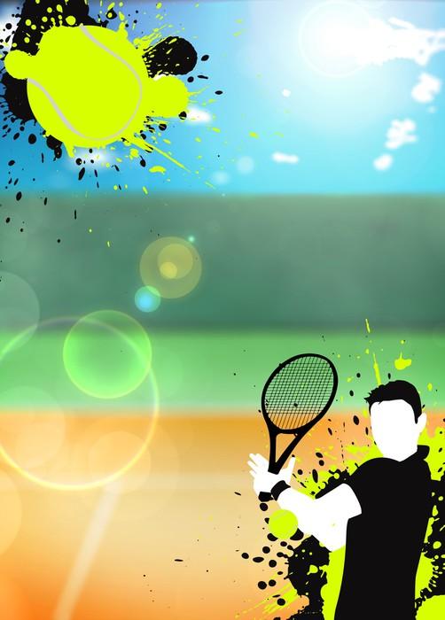 Vinylová Tapeta Tenis sport, pozadí - Tenis