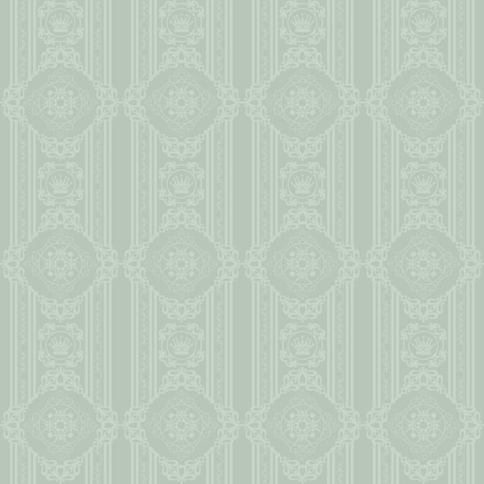 Vinylová Tapeta Pozadí retro: tapety, vzor, bezešvé, vektor - Veřejné budovy