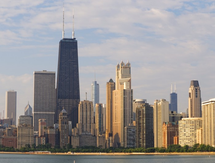 Vinylová Tapeta Chicago Downtown - Amerika