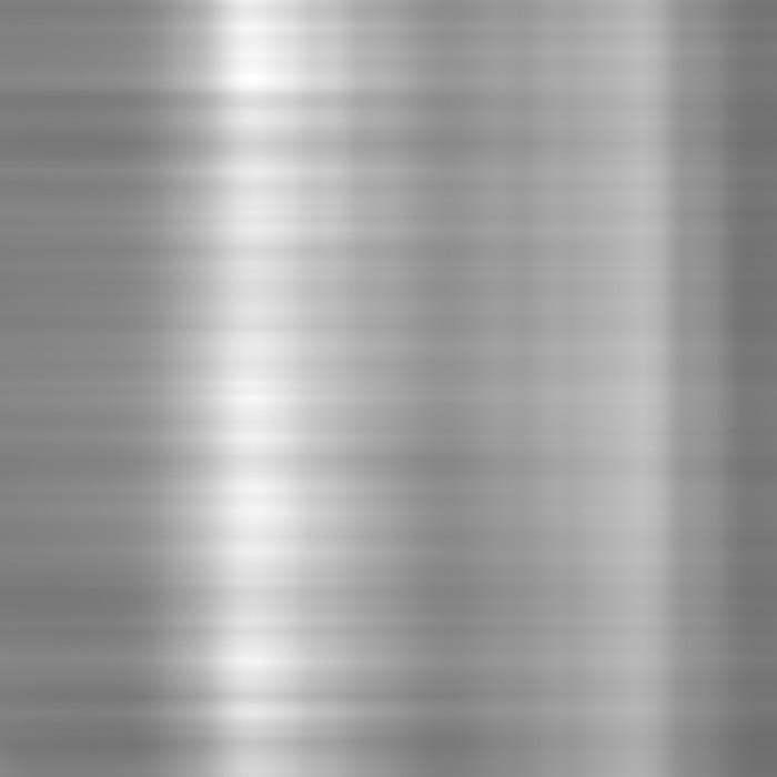 Nálepka Pixerstick Leštěný hliník kovová deska - Surové materiály