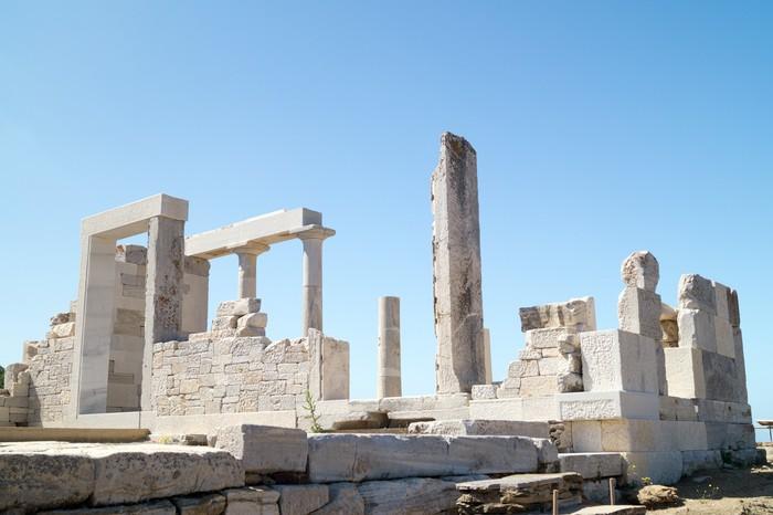 Vinylová fototapeta Temple of Demeter, ostrov Naxos, Řecko - Vinylová fototapeta