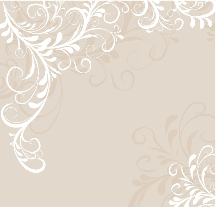 Vinylová Tapeta Květinové pozadí - Květiny