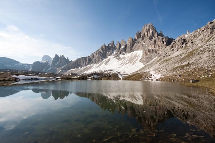 Erstaunlich Fototapete Seen Von Plänen Und Monte Paterno (Dolomiten)