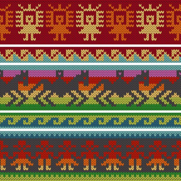 Vinilo Pixerstick Tradicionales patrones que hacen punto andinos ...