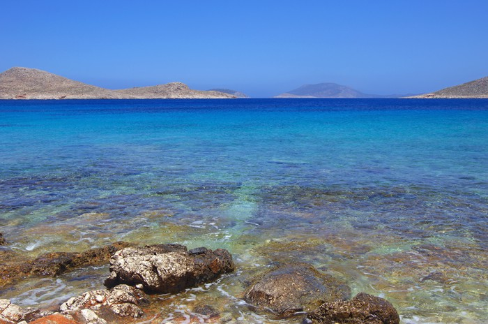 Vinylová Tapeta Ftenagia Beach, Halki Island, Řecko - Evropa