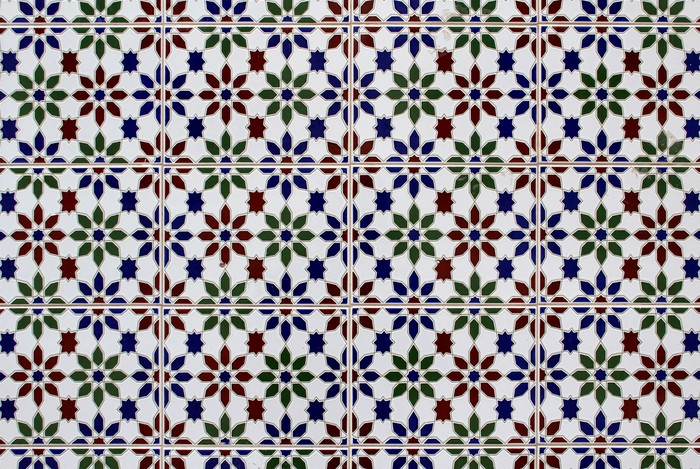 fototapete azulejo traditionellen portugiesischen fliesen textur gemalt kunst pixers wir. Black Bedroom Furniture Sets. Home Design Ideas