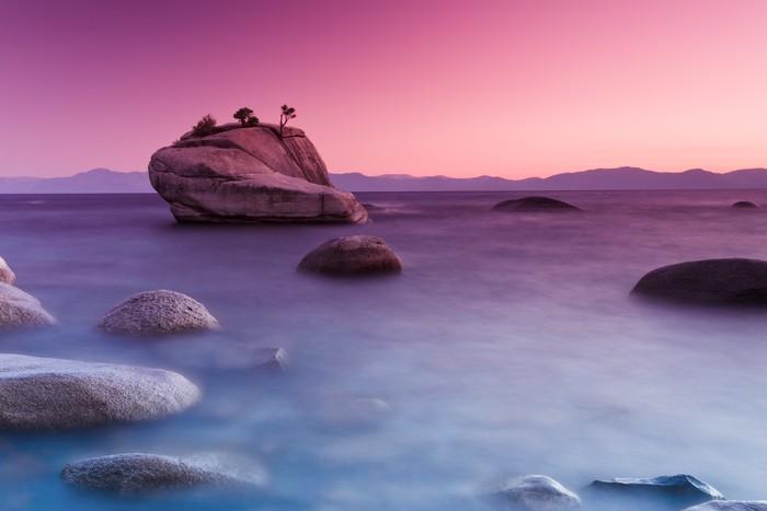 Carta da parati bonsai roccia lake tahoe pixers for Carta da parati effetto roccia