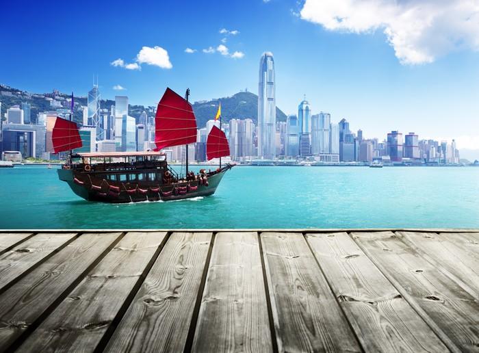 Vinylová Tapeta Hong Kong přístav - Témata