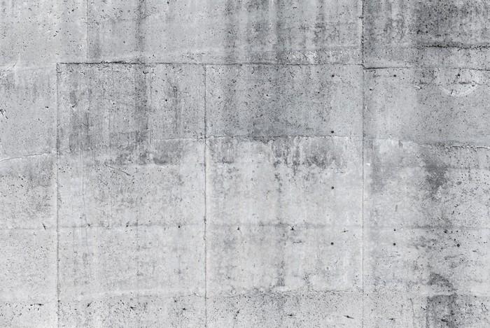Sticker Pixerstick Gris mur de béton texture de fond - iStaging