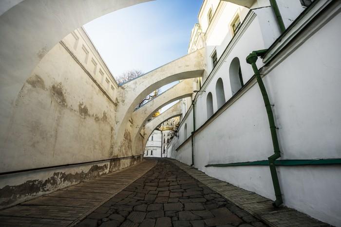 Vinylová Tapeta Budova tiskového-House. Kyjev. Ukrajina. - Evropa