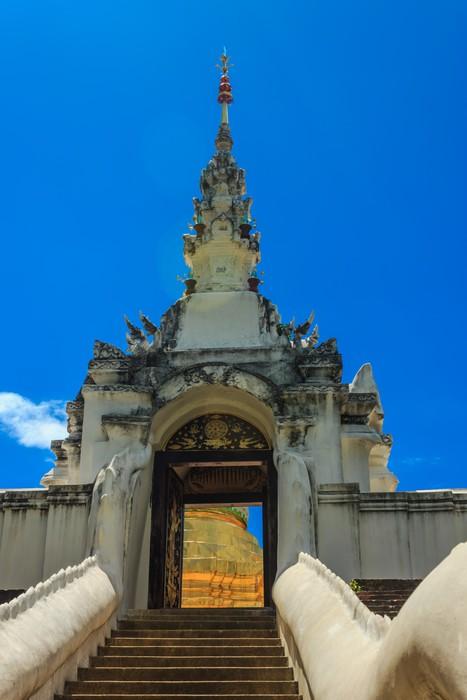Vinylová Tapeta Arch buddhistické v Thajsku - Asie