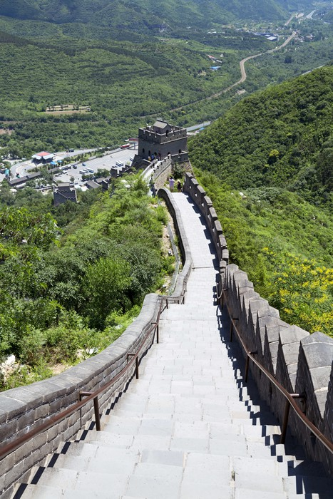 Sticker Pixerstick The great wall of china - Styles