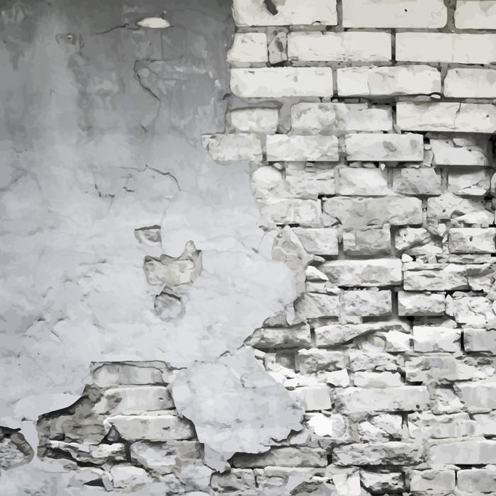 carta da parati vecchio muro rovinato vettore sfondo