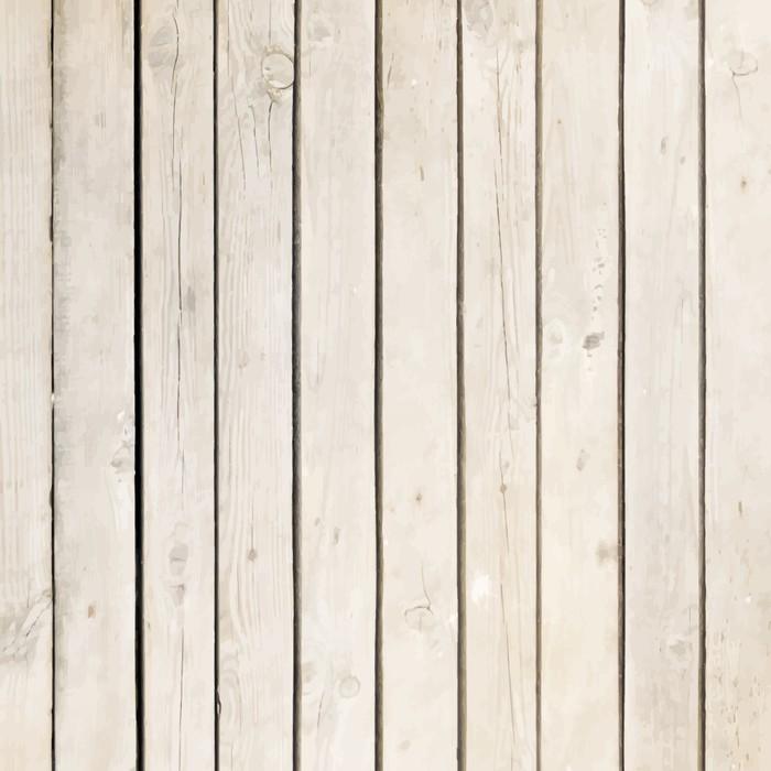 Sticker Pixerstick Blanc planche de bois vecteur de fond - Thèmes