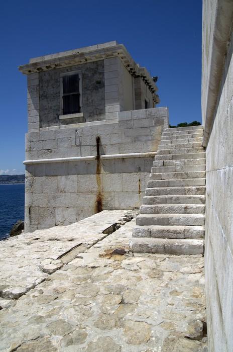 Vinylová fototapeta Lighthouse v Nice, Francie - Vinylová fototapeta